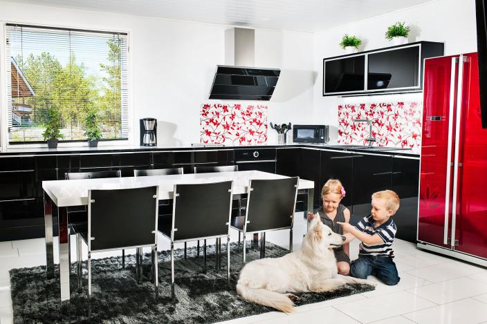 Lapsiystävällisen keittiön turvallisuus