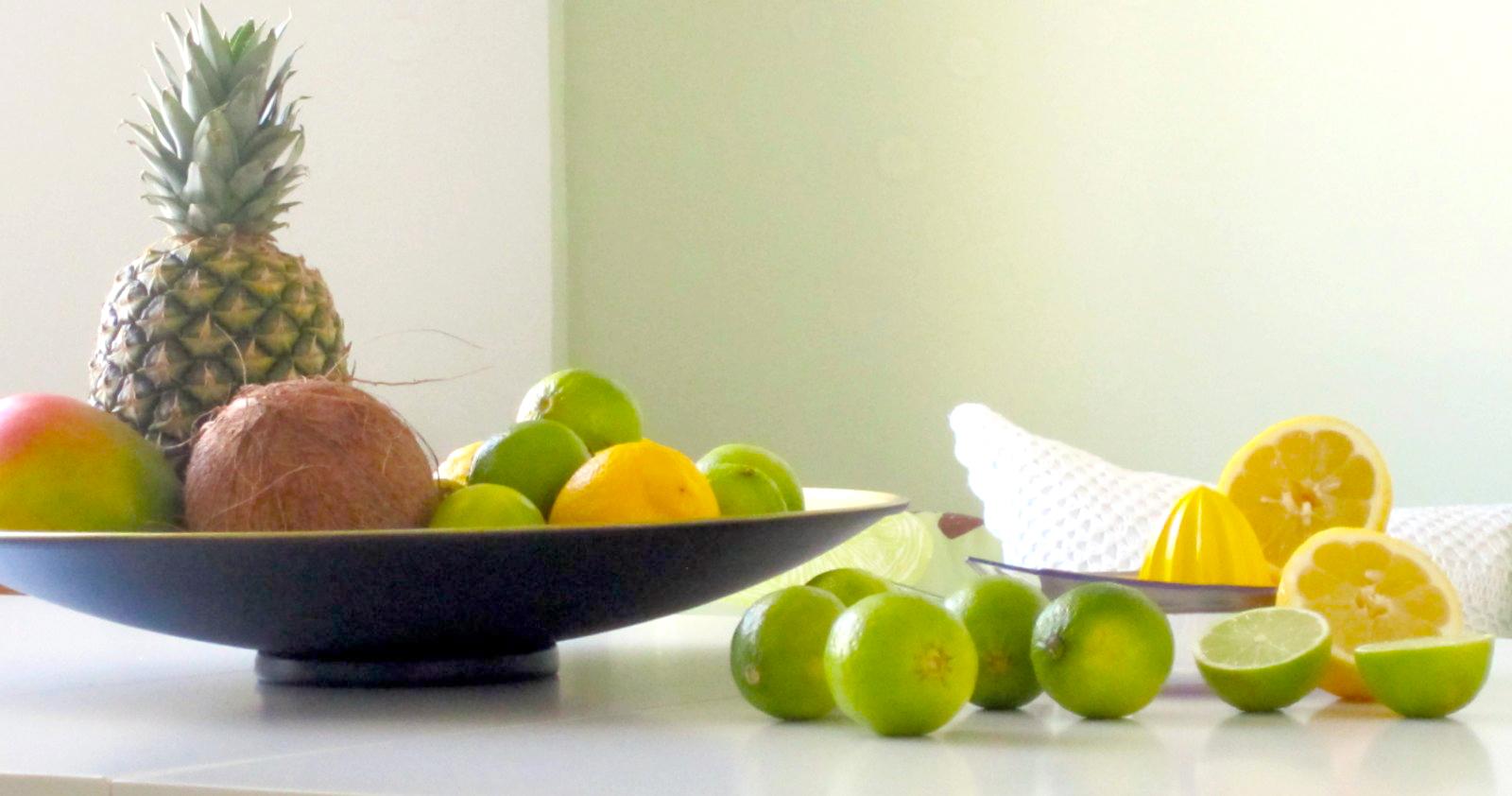 Ruokailutilan muutos - vihreää ja keltaista