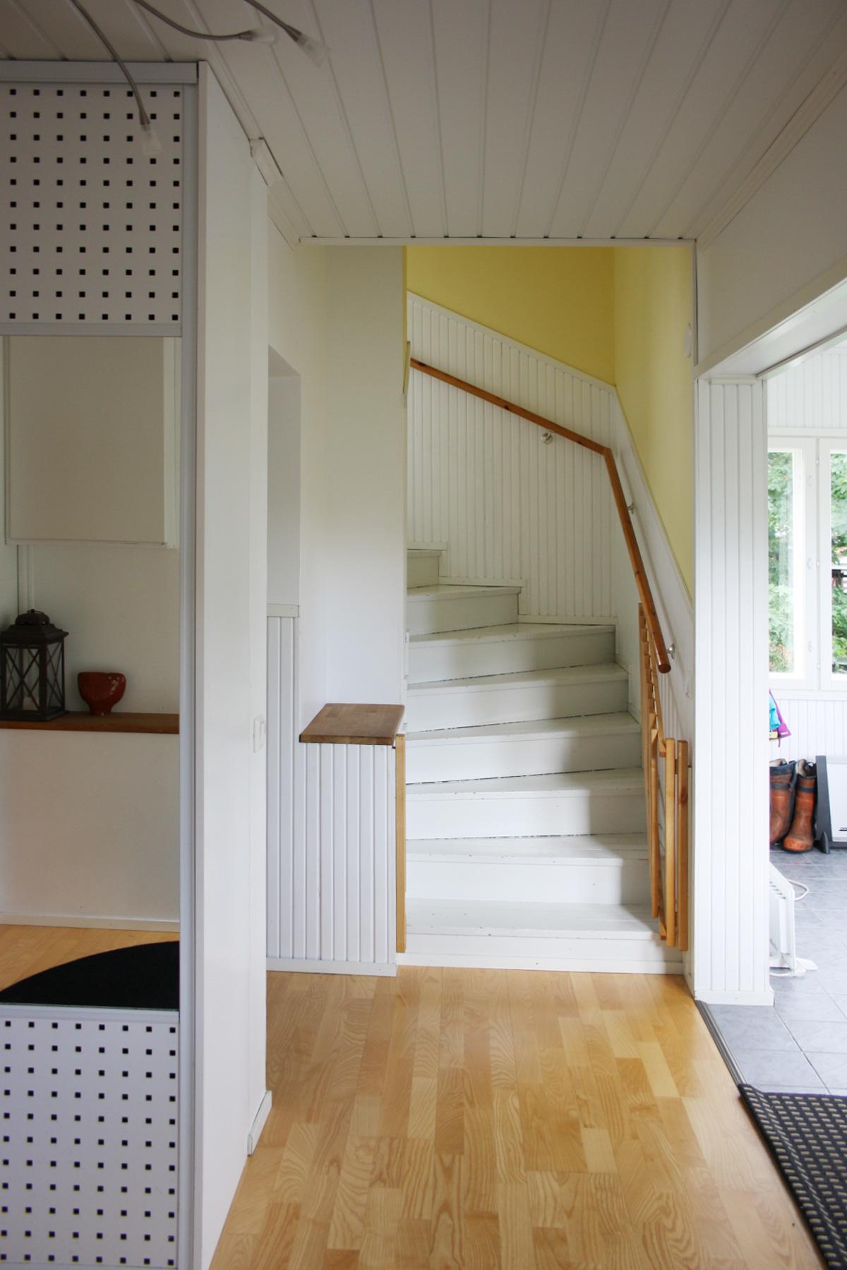 Rintamamiestalon yläkerta  Perhekoti ilmapiiri