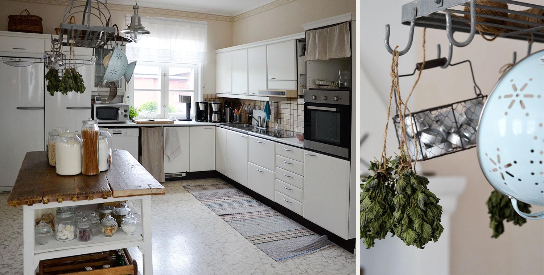 keittiö, perinteinen, rustiikkinen