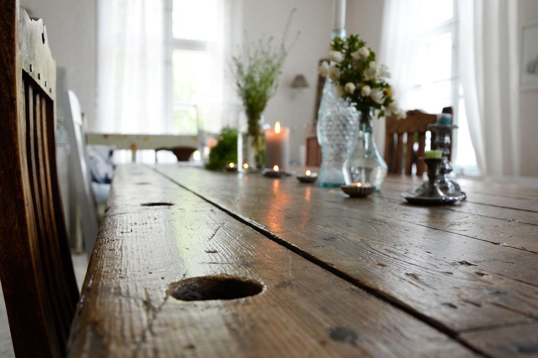 ruokailuhuone, ruokapöytä, rustiikkinen
