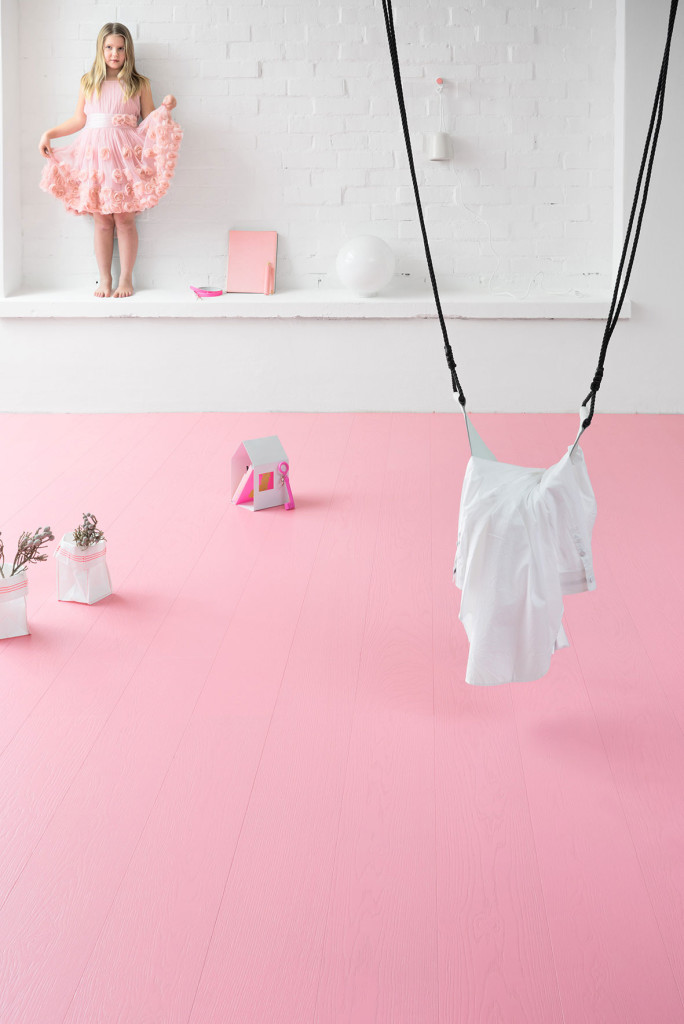 pinkki parketti