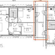 Pohjapiirustus muuntautuvasta talostamme – unelmia ja kompromisseja