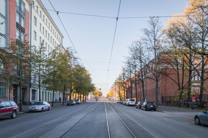 kaupunkikoti tehdasmiljöössä Helsingin Vallilassa