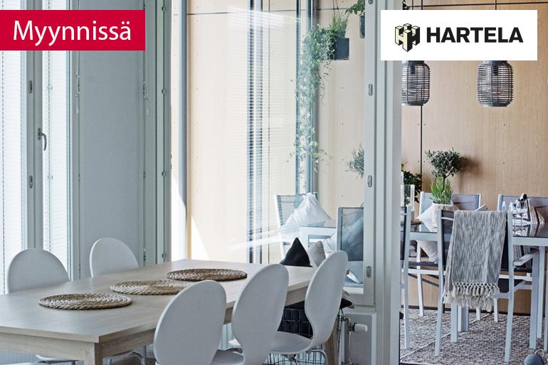 Myynnissä Kakolan uusi kerrostalokoti, yhteistyössä Hartela
