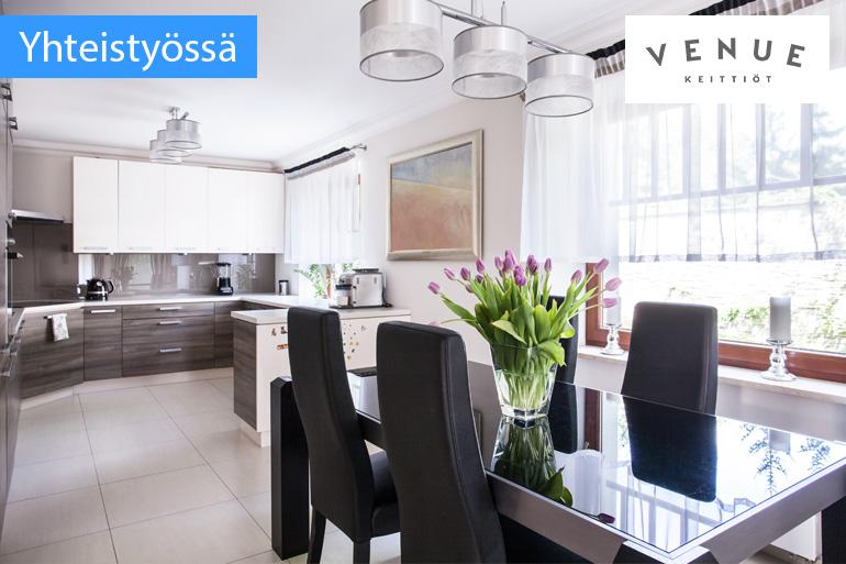 Yhteistyössä Venue Uusi keittiötoimittaja Suomessa