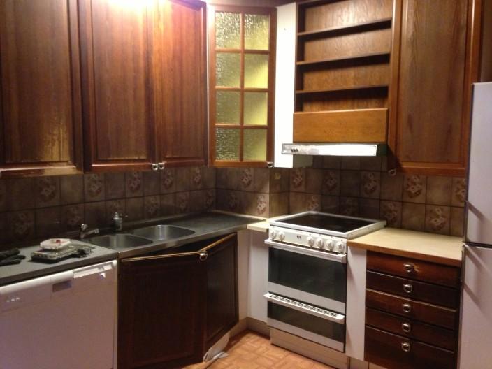 Vanhan talon keittiöremontti